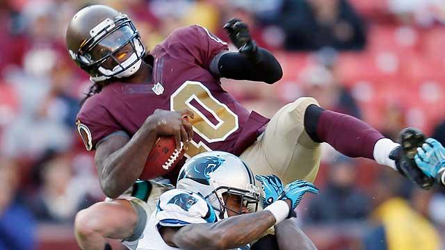 RG3 running out of options