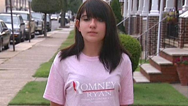 Honor student harassed for wearing Romney shirt?