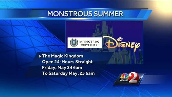 Want to spend 24 hours at Disney's Magic Kingdom?
