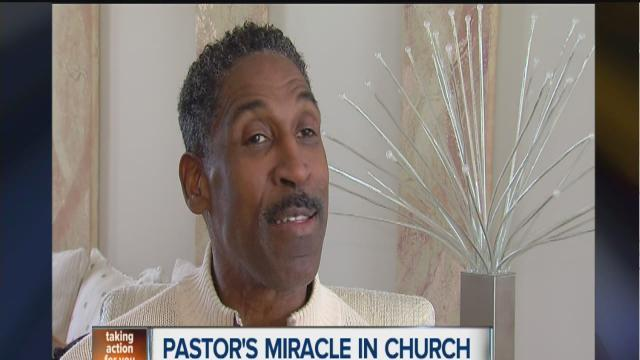 Pastor's miracle in Washtenaw County church