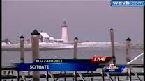 South Shore takes pounding during storm