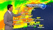 WBZ AccuWeather Afternoon Forecast For May 27