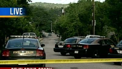 Police Close Down Road For Person Barricaded In Home