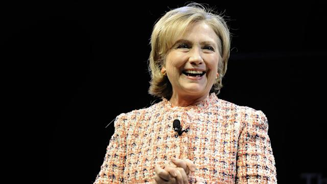 Hillary Clinton Headlines Forum At Simmons College