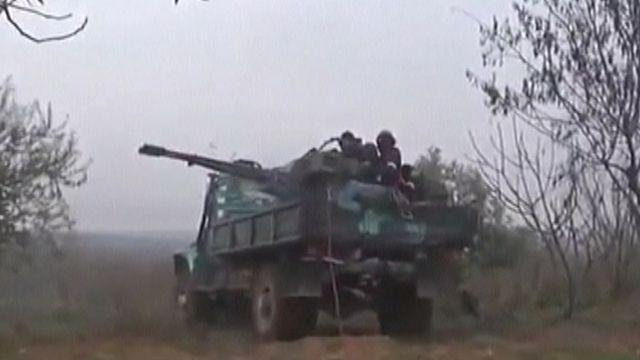 New fighting rages in Syria near strategic air base