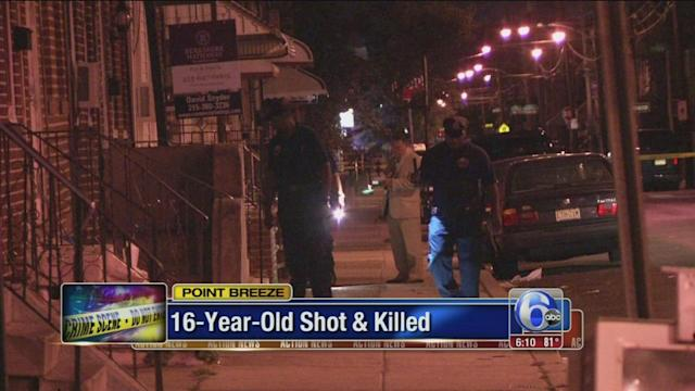 Teen shot and killed in Point Breeze identified
