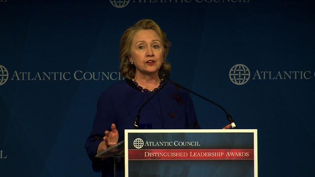 Amid 2016 speculation, Hillary Clinton recalls former secretaries of state