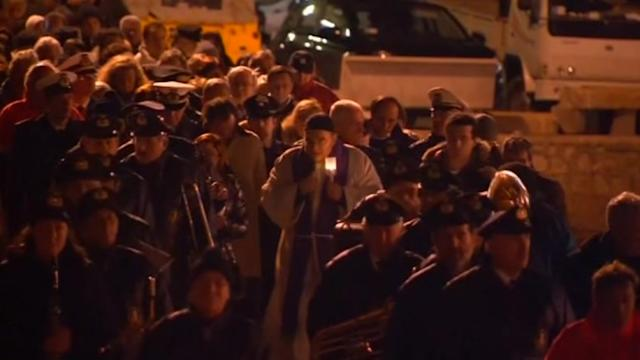 Concordia anniversary marked with candle-lit procession and prayer