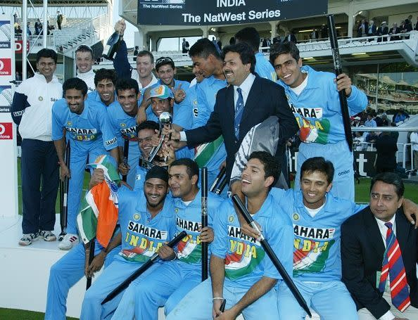 Indian Team The NatWest Series Final