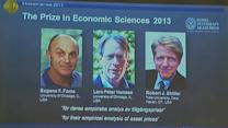 Americans awarded Nobel Prize in economics