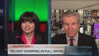 Macy's CEO: Weather definitely helping