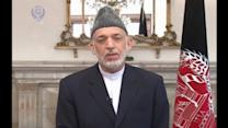 """Karzai calls Afghan election """"one strong step forward"""""""