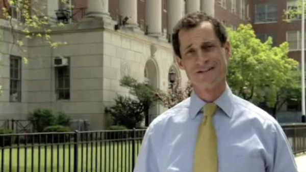 Anthony Weiner to hold 1st campaign event in Harlem