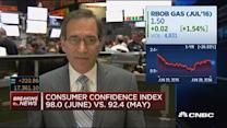 June consumer confidence at 98.0