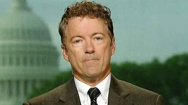Big Government bullies? Sen. Paul on IRS scandal