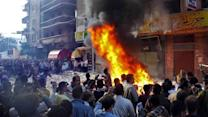 Report: Deadly attack on Muslim Brotherhood building