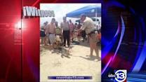 Alligator spotted and captured along beach in Galveston