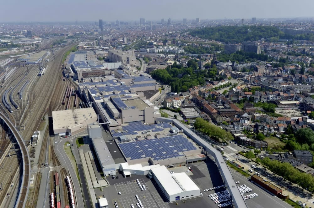 Audi為全球第一座獲得碳中和認證的豪華汽車品牌生產工廠,Audi布魯塞爾工廠e-ton SUV產線也以落實永續發展為主要目標(圖片來源:Audi Taiwan)