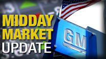 Midday Report: General Motors, Ford Sales Disappoint; Stocks Rise