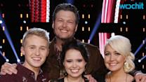'The Voice' Finalists and Coaches Applaud Show's Country Connections
