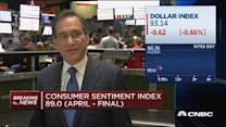 Consumer sentiment index at 89.0 for April