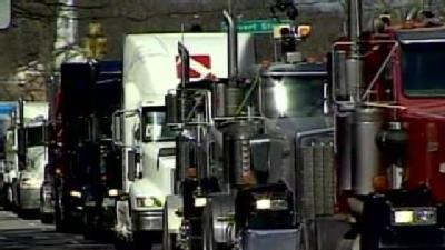 Truckers Rally Against Fee, Tax Proposals