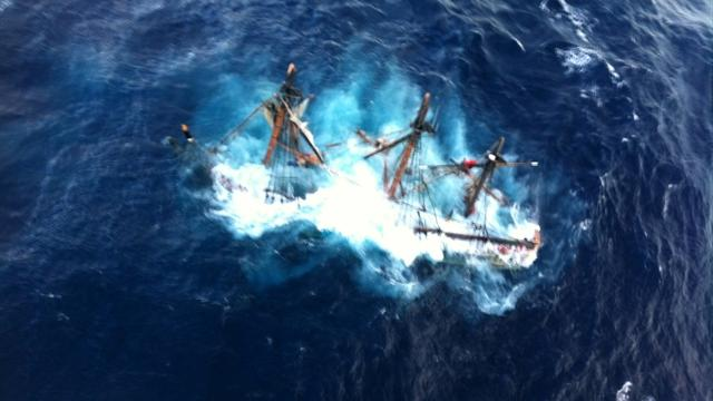 HMS Bounty and its captain lost off N.C. coast