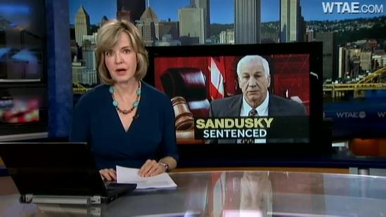 Jerry Sandusky sentenced to long prison term