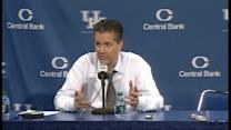Coach Cal talks about loss to Baylor