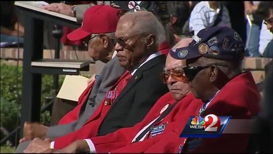 Red Tail pilots honored with monument in Orlando