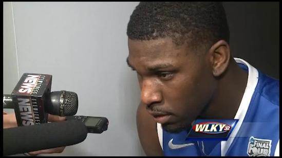 From the locker room: Alex Poythress on national championship loss