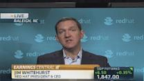 Red Hat CEO: We are a cloud 'share-taker'