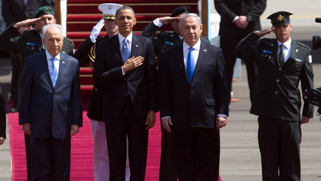 Obama makes first trip to Israel as president