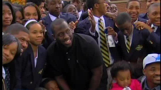 Tulloch makes a difference at Jalen Rose Academy