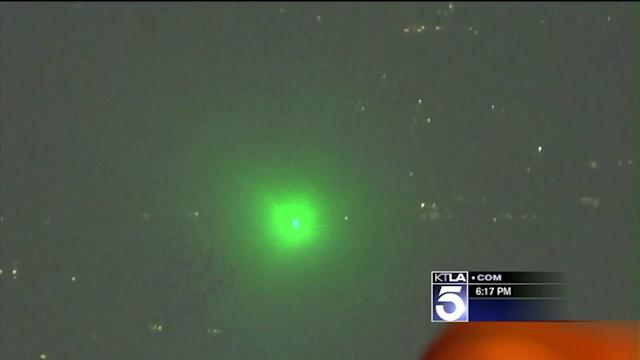 FBI to Offer Rewards in Cases of Lasers Aimed at Pilots