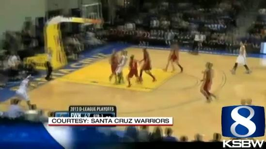 Santa Cruz Warriors in 2nd round of playoffs