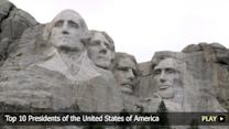 Top 10 Presidents of the United States of America