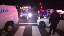 4 injured in 3 vehicle accident involving SEPTA bus
