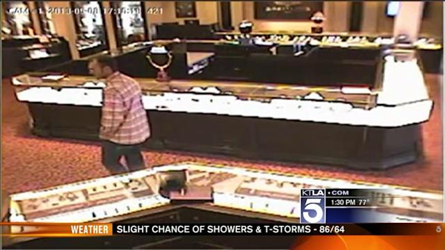 High-End Watches Stolen in Mission Viejo Jewelry Heist