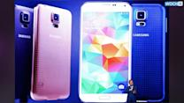 Galaxy S5 Matches IPhone With A Fingerprint Reader