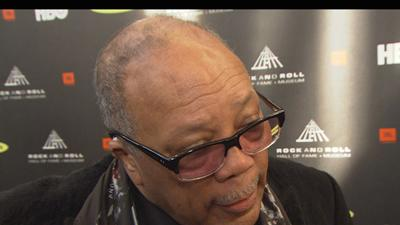 Quincy Jones Inducted Into Rock And Roll Hall Of Fame