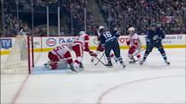 Andrew Ladd tallies on the backhand