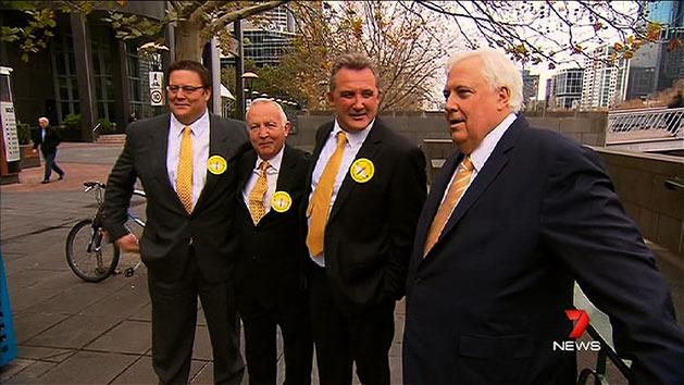 Clive Palmer's star recruits