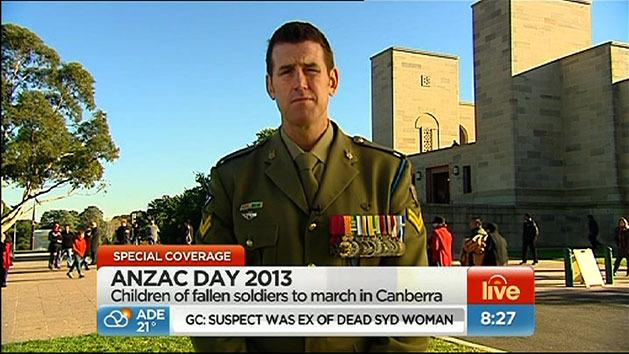 Ben Roberts-Smith on Sunrise
