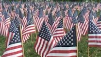 Thousands of Flags Remember Massachusetts Soldiers Who Died in Action