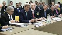 Raw: Iran Nuclear Talks Held on Deadline Day