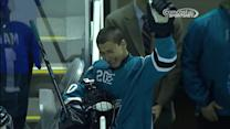 Sam Tageson lives the Shark fan's dream