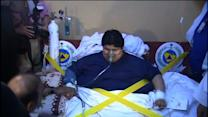 1,300-pound Saudi man airlifted to hospital