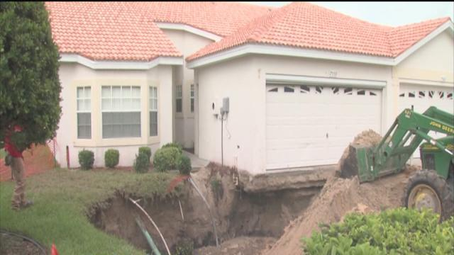 May is the month when most sinkholes appear
