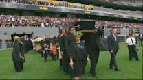 Emotional memorial service for rugby ace Jonah Lomu